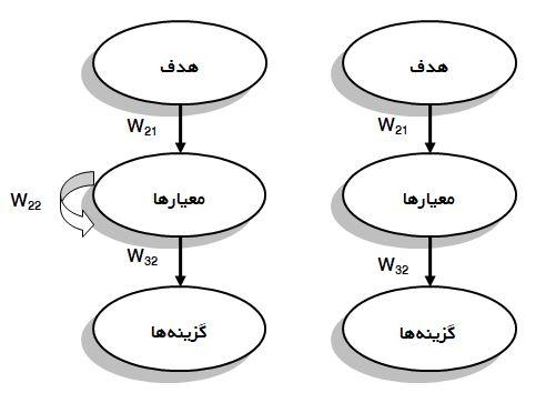 ساختار کلی AHP و ANP