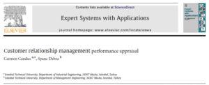 ارزیابی عملکرد مدیریت ارتباط با مشتری