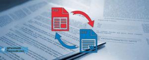 تبدیل PDF به متن