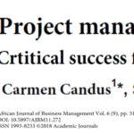 عوامل حیاتی موفقیت مدیریت پروژه