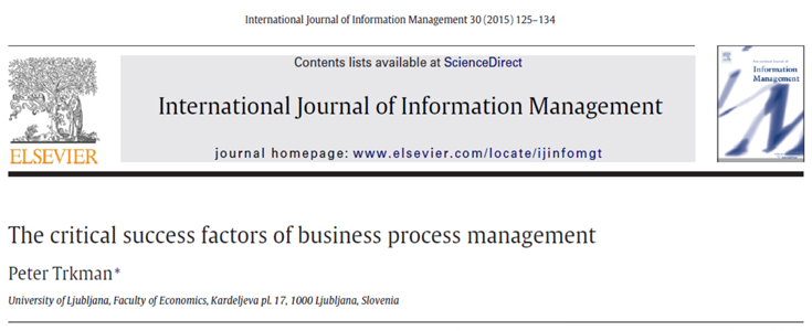 عوامل حیاتی موفقیت مدیریت فرایند کسبوکار