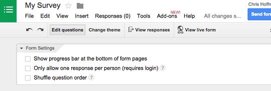 مرحله سوم طراحی پرسشنامه آنلاین