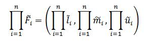 فرمول میانگین هندسی فازی
