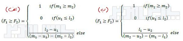 فرمول درجه امکان پذیری چانگ