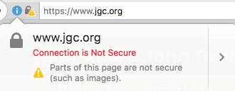 زرد شدن قفل امنیت پس از نصب SSL