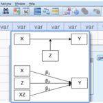 محاسبه متغیر تعدیلگر در SPSS