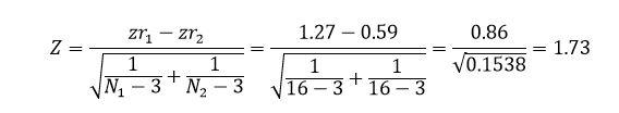 محاسبه میزان تاثیر تعدیلگر