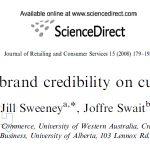 تاثیر اعتبار برند بر وفاداری مشتریان