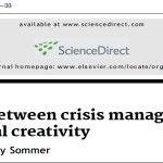 مدیریت بحران و خلاقیت سازمانی