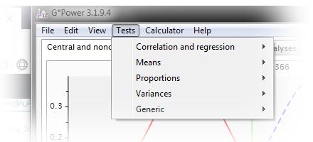 محاسبه حجم نمونه با نرم افزار G*Power