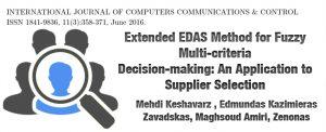 روش EDAS فازی