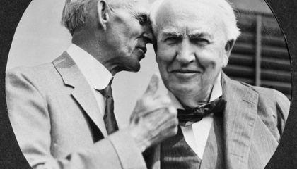 هنری فورد و ادیسون